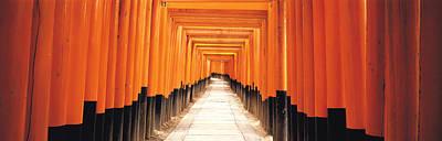 Shinto Temple Photograph - Fushima-inari Kyoto Japan by Panoramic Images