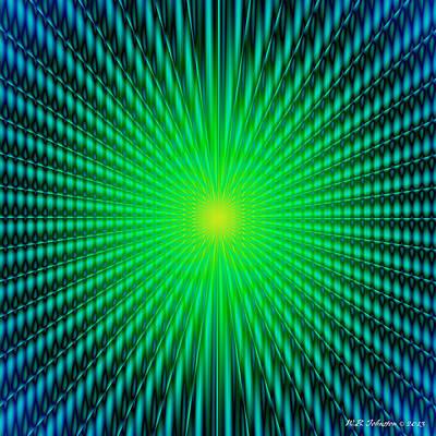 Digital Art - Fusion 1 by WB Johnston