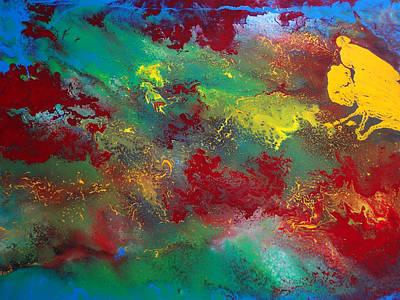 Chemical Mixed Media - No Man's Land  by Jean-francois Suys