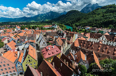 Fussen - Bavaria - Germany Art Print
