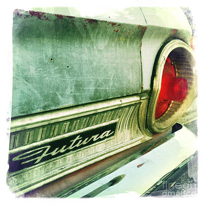 Car Photograph - Futura by Nina Prommer