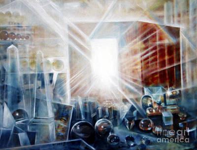 Painting - Future City #5 by Yael Avi-Yonah