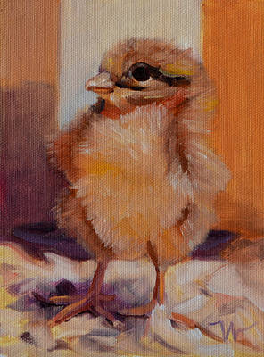 Future Egg Layer Art Print by Pattie Wall