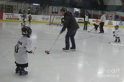 Photograph - Future Hockey Players by Stella Sherman