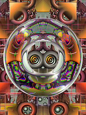 Digital Art - Future Retro by Wendy J St Christopher