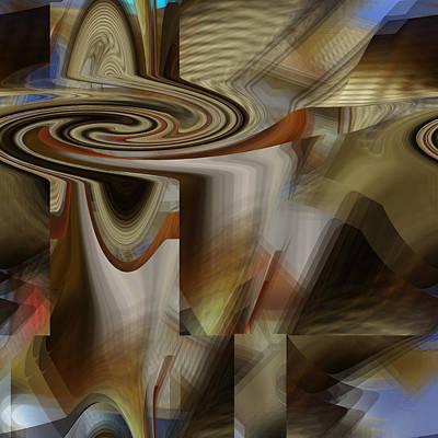 Digital Art - Future Space Landing by rd Erickson