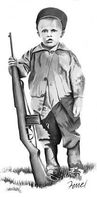 Future Trooper Art Print by Ferrel Cordle