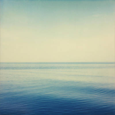 Fv4281, Bert Klassen Water And Sky Art Print