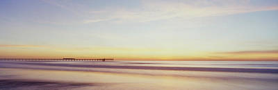 Panoramic Of San Diego Photograph - Fv5430, Luc Lavergne Sunset At Ocean by Luc Lavergne