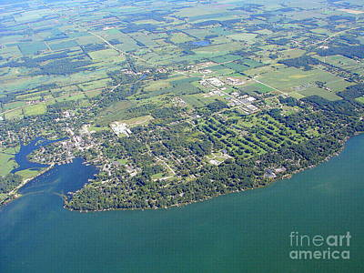Photograph - G-030 Green Lake City To Ne Green Lake Wisconsin by Bill Lang