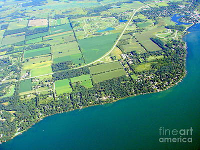 Photograph - G-047 Green Lake Dartford Bay Wisconsin by Bill Lang