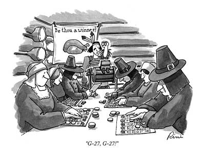 Playing Drawing - G-27, G-27! by J.P. Rini