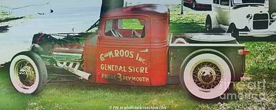 G And M Roos Inc. Art Print by PainterArtist FIN