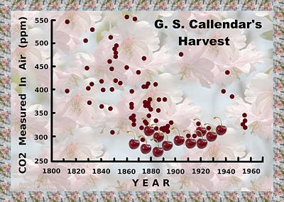Photograph - G S Callendar Harvest by Robert Kernodle