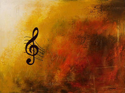 Painting - G Symphony by Carmen Guedez