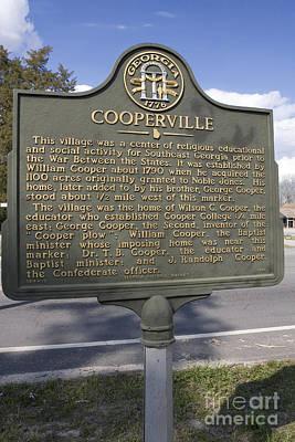Dr. J Photograph - Ga-124-13 Cooperville by Jason O Watson