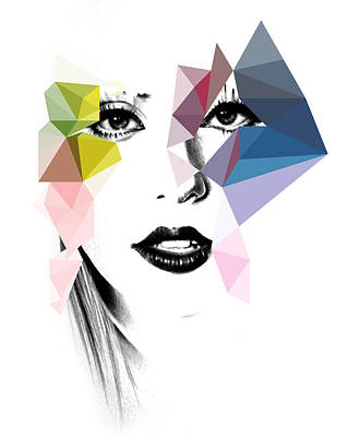 Lady Gaga Art Digital Art - Ga Ga by Mark Ashkenazi