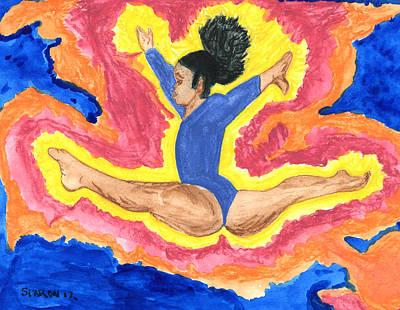 Gabby Art Print