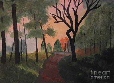 Painting - Gabby's Path Watercolor by Tanja Beaver