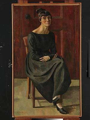 Fries Painting - Gabrielle So�ne by Roger Eliot Fry