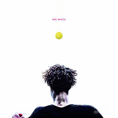 Tennis  - Gael Monfils by Nishanth Gopinathan