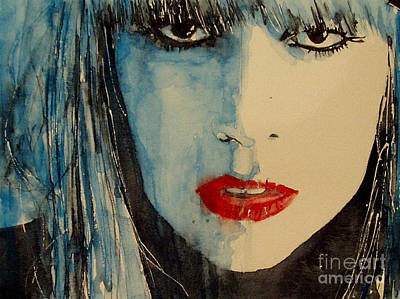 Lady Painting - Gaga by Paul Lovering