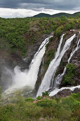 Karnataka Photograph - Gaganachukki Falls by Photo By Meredith Narrowe