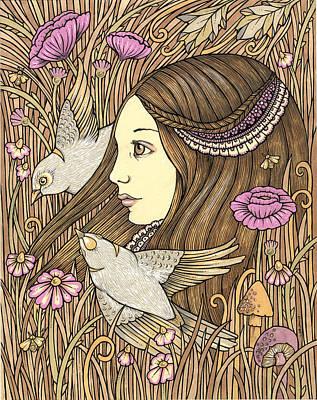 Gaia's Daughter Art Print