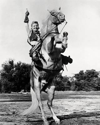 Annie Photograph - Gail Davis In Annie Oakley  by Silver Screen
