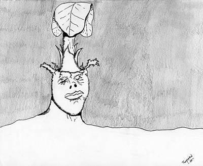 Plants Drawing - Gaining Knowledge by Dan Twyman