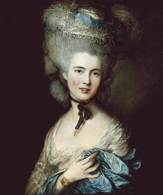 Gainsborough, Thomas 1727-1788. A Woman Art Print
