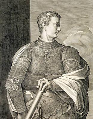 Tyrant Drawing - Gaius Caesar Caligula Emperor Of Rome by Titian