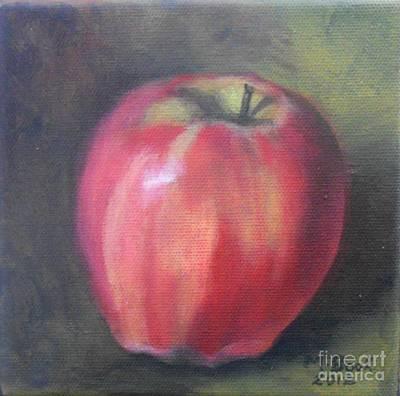Painting - Gala Apple by Marlene Book