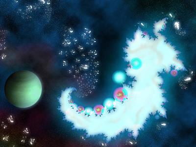 Galactic Embryo Original by Joel Fernandes
