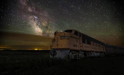 Railroads Photograph - Galactic Express by Aaron J Groen