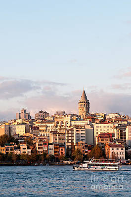 Photograph - Galata Skyline 02 by Rick Piper Photography