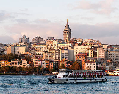 Photograph - Galata Skyline 03 by Rick Piper Photography