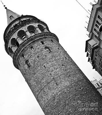 Photograph - Galata Tower 01 by Rick Piper Photography