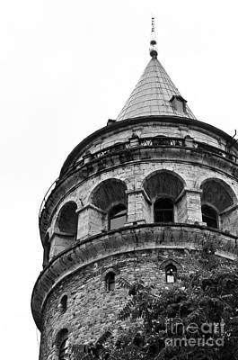 Photograph - Galata Tower 02 by Rick Piper Photography