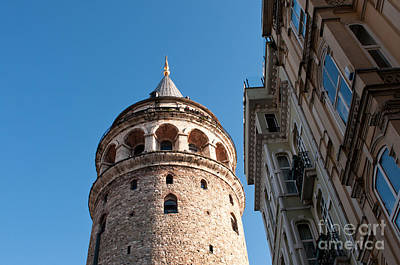 Photograph - Galata Tower 03 by Rick Piper Photography