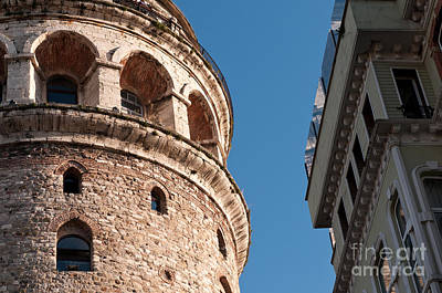 Photograph - Galata Tower 06 by Rick Piper Photography