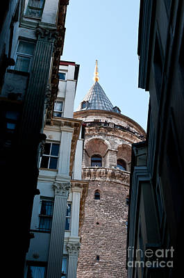 Photograph - Galata Tower 08 by Rick Piper Photography
