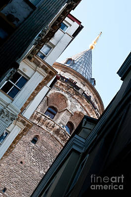 Photograph - Galata Tower 11 by Rick Piper Photography