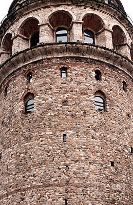 Photograph - Galata Tower Arches 02 by Rick Piper Photography