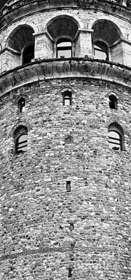 Photograph - Galata Tower Arches 01 by Rick Piper Photography