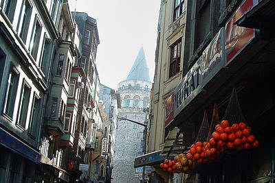 Photograph - Galata Tower Istanbul Turkey by Roger Passman