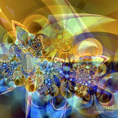 Digital Art - Galaxy 2 by Ursula Freer