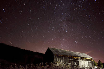 Photograph - Galaxy Barn by Emily Stauring
