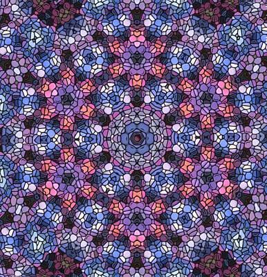Digital Art - Galaxy Mandala by Karen Buford