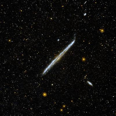 Galex Photograph - Galaxy Ngc 4565 by Nasa/jpl-caltech